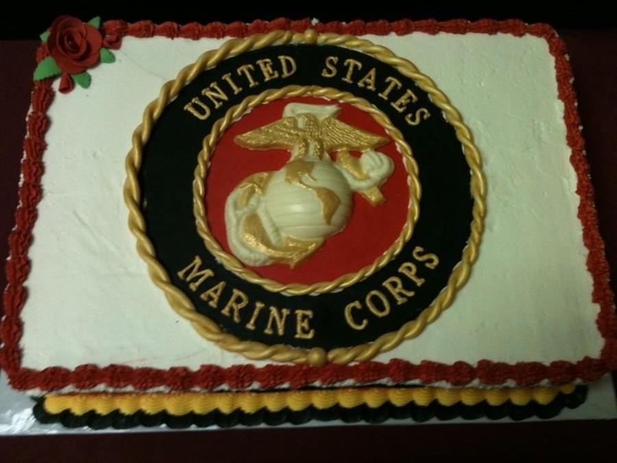 Marines Birthday Cakes