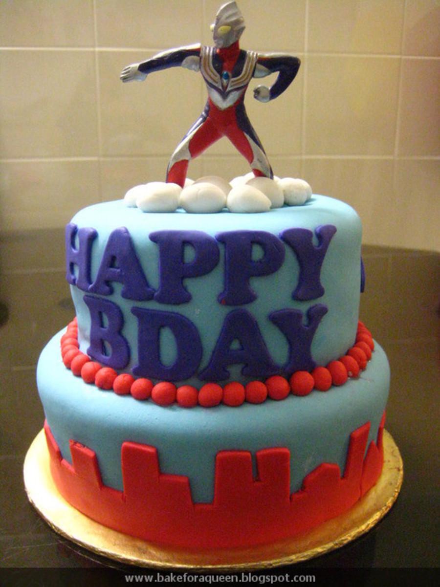 Ultraman Birthday Cakes