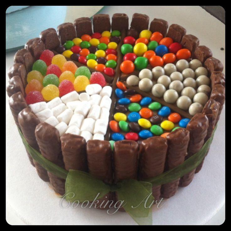 Twix Birthday Cakes