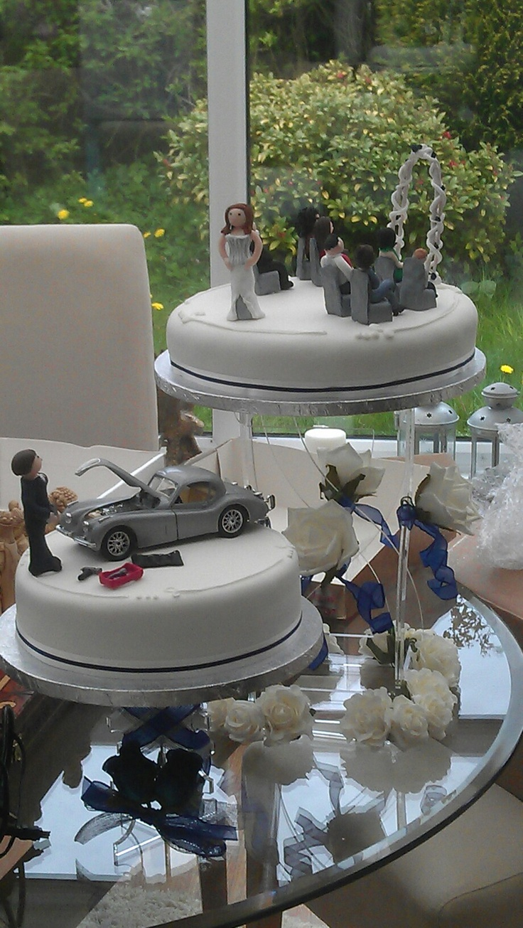 Car Wedding Cakes