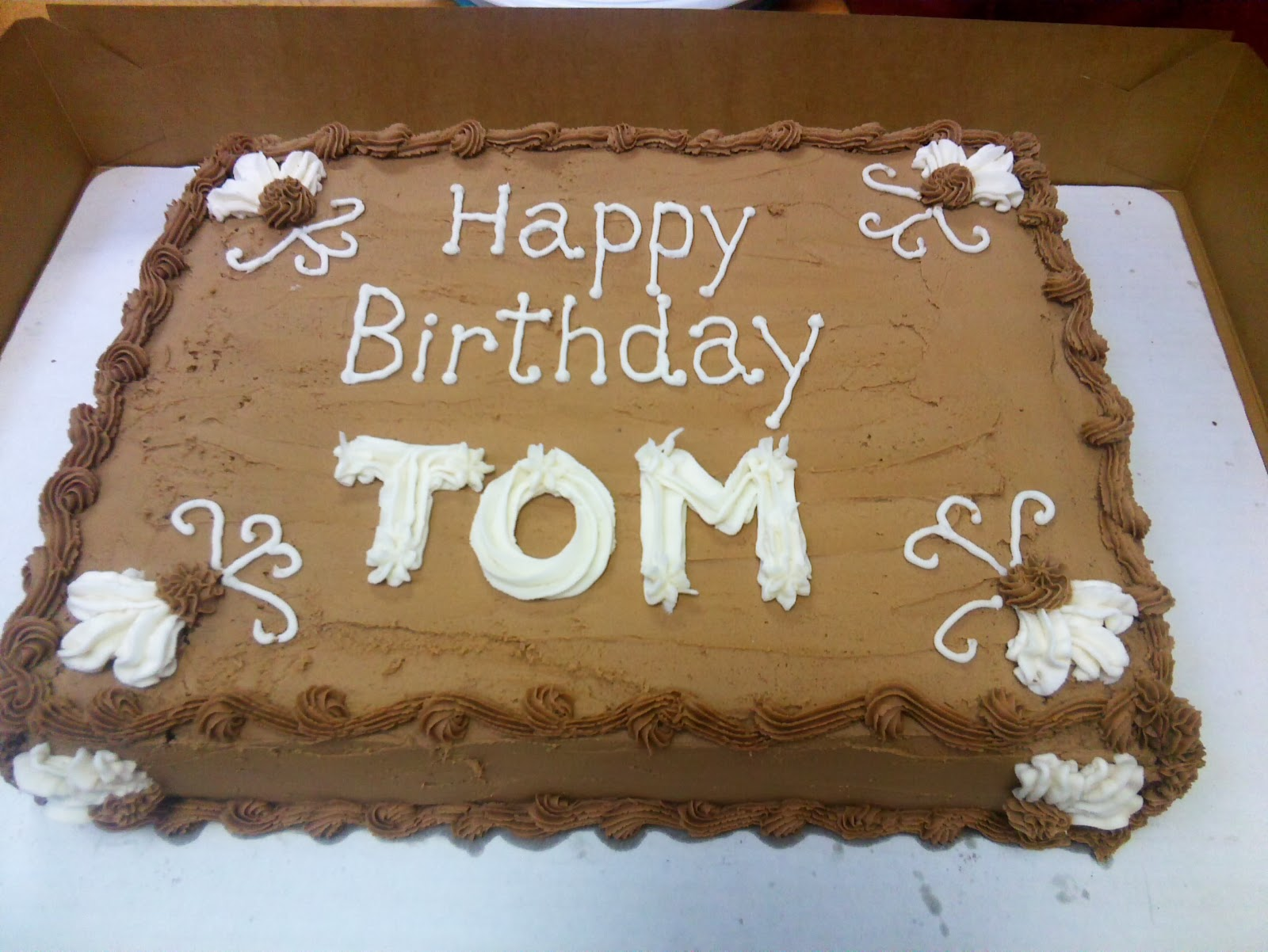 Tom Birthday Cakes