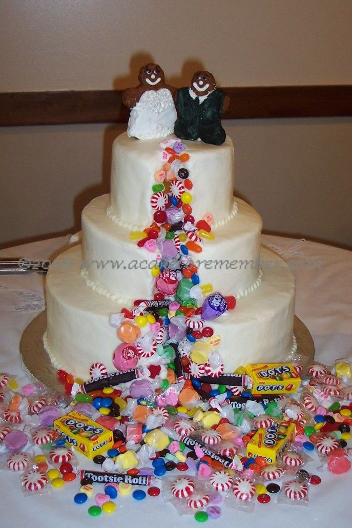 Candy Wedding Cakes