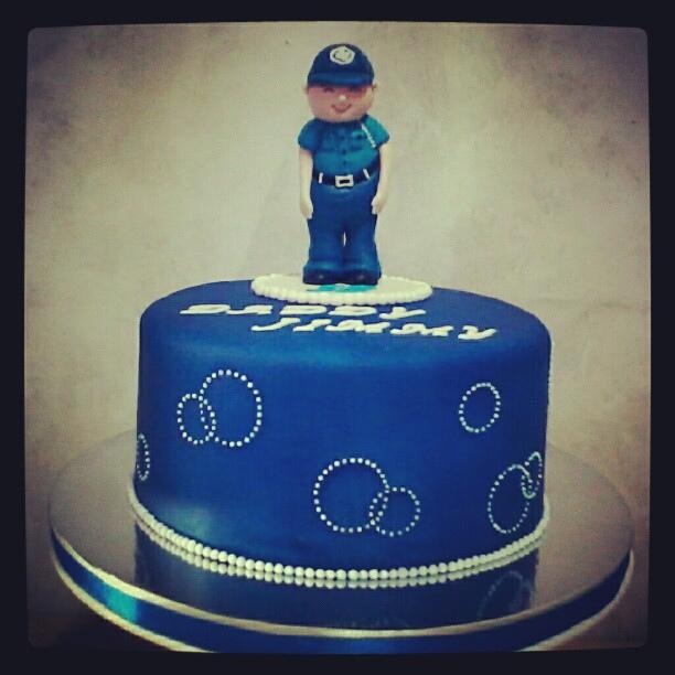 Policeman Birthday Cakes