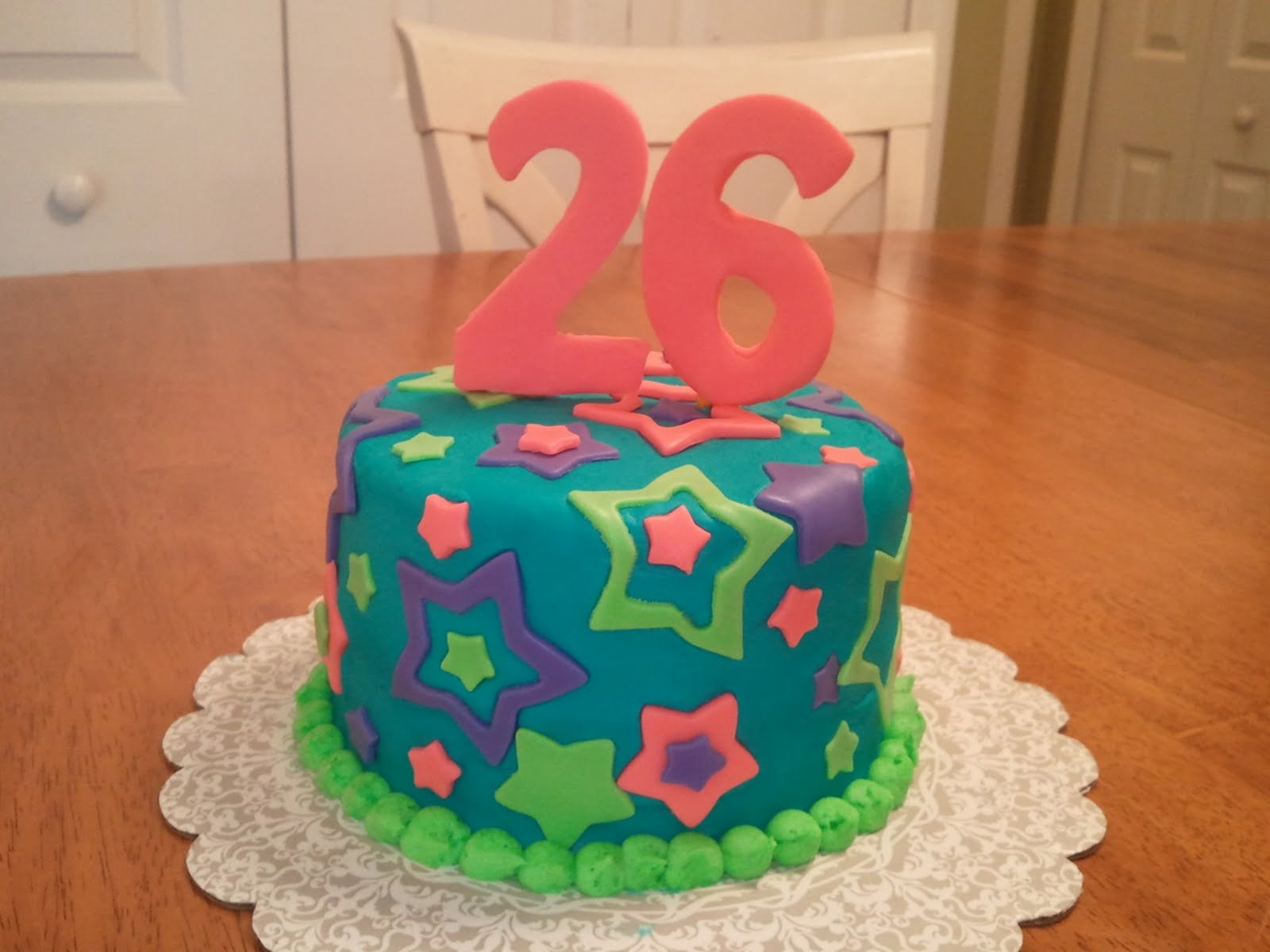 26Th Birthday Cakes