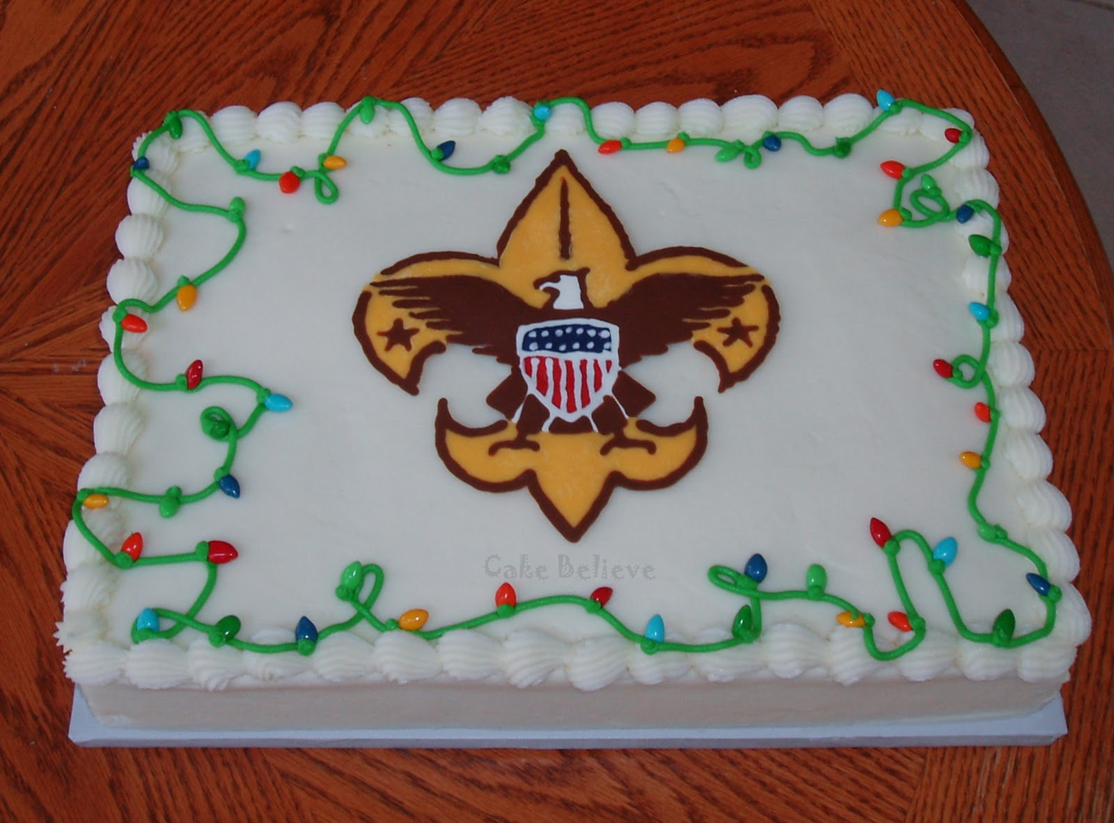 Scout Birthday Cakes