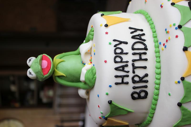 Kermit Birthday Cakes