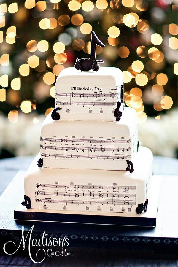 Music Wedding Cakes