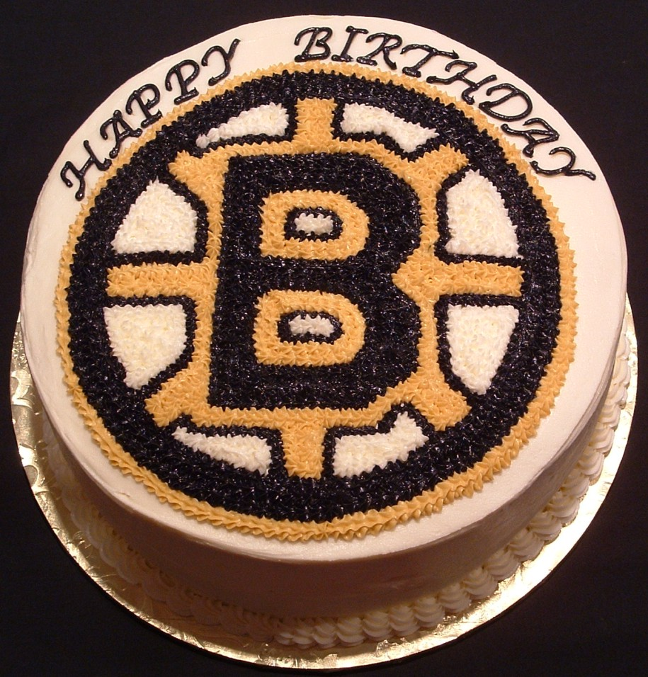 Bruins Birthday Cakes