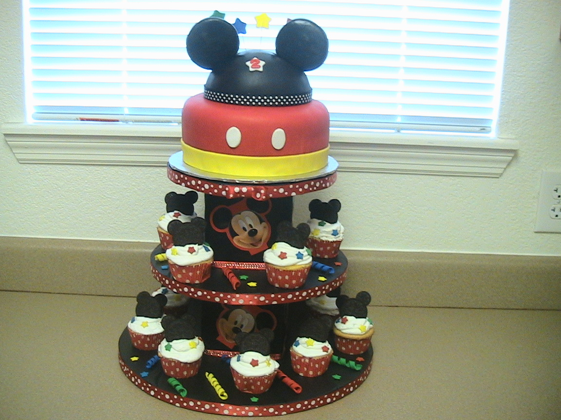 Mickey Birthday Cakes