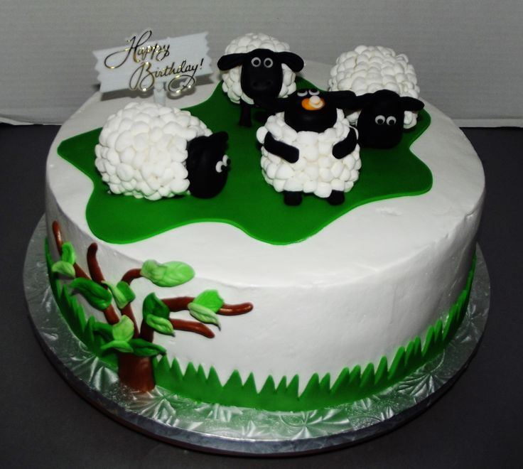 Lamb Birthday Cakes
