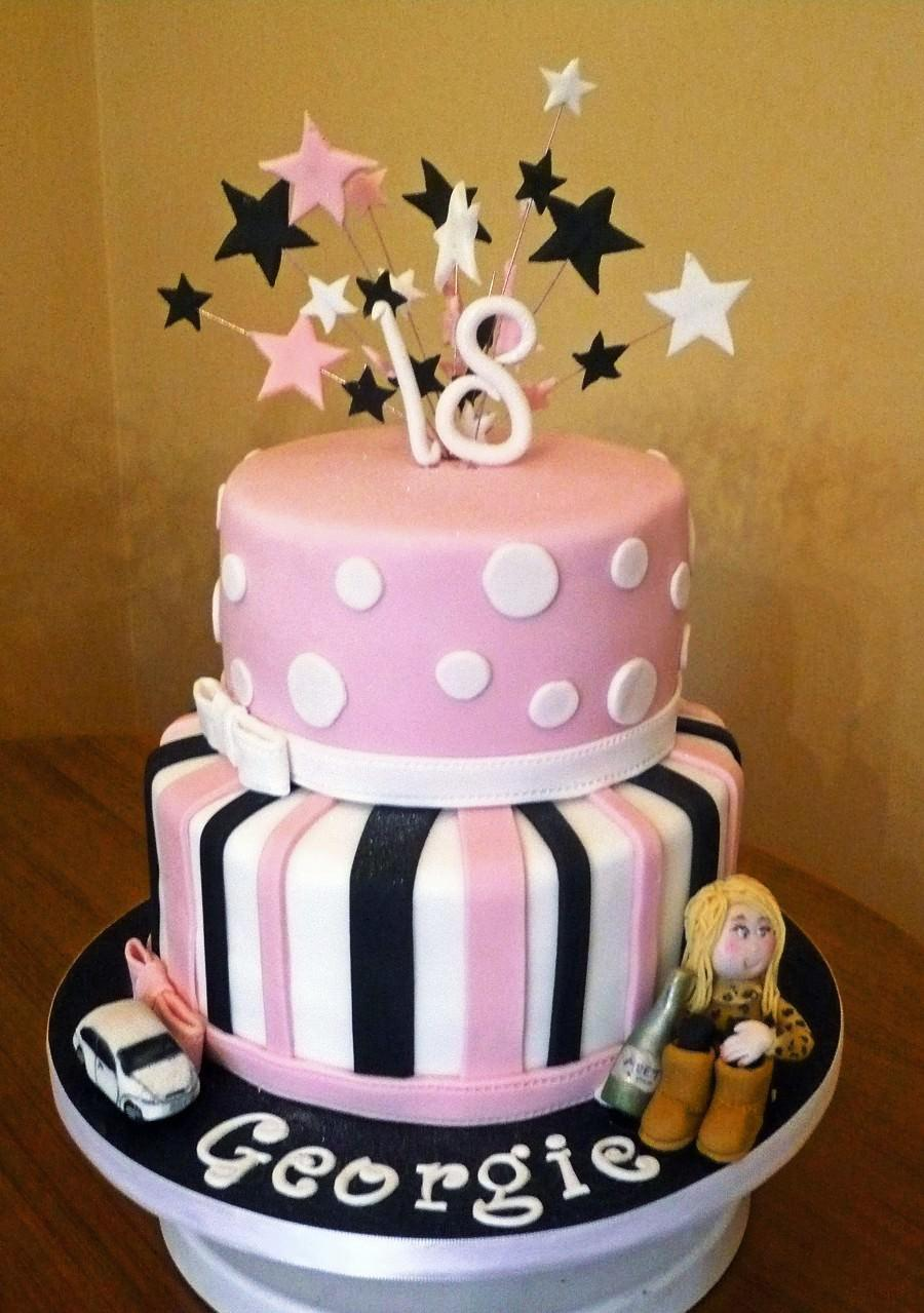 Cake Ideas For 18th Bday