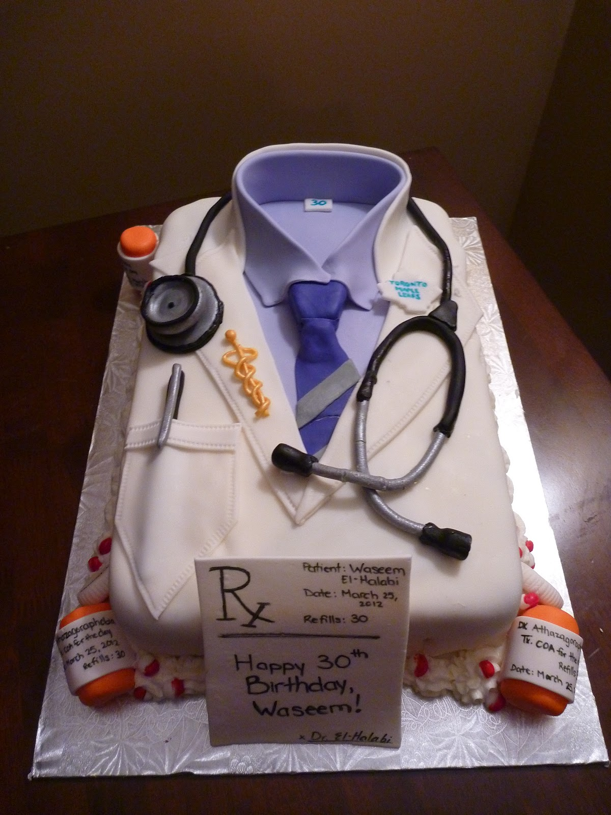 Doctor Birthday Cakes