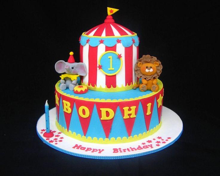 Clown Birthday Cakes