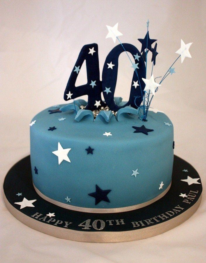 40Th Birthday Cakes