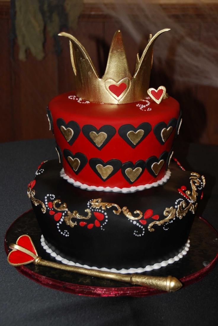 Queen Of He S Cake Sugar Pinterest