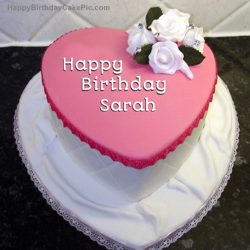 Birthday Cake For Sarah