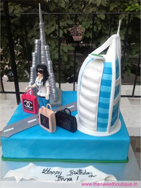 Dubai Birthday Cakes