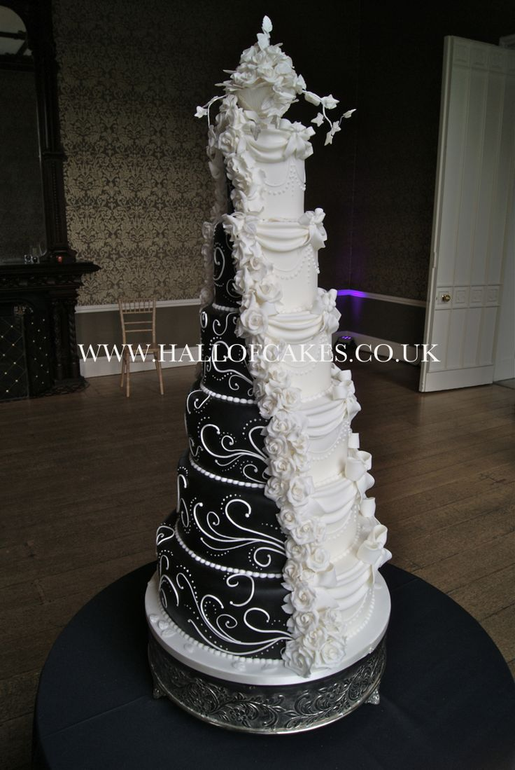 Gothic wedding cakes uk