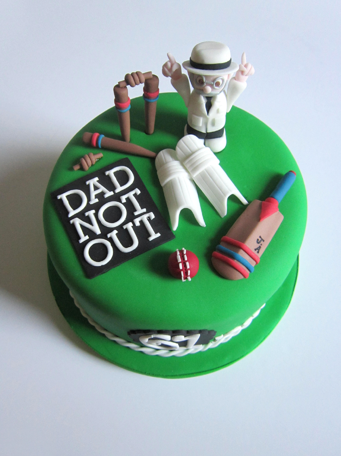Cricket Birthday Cakes