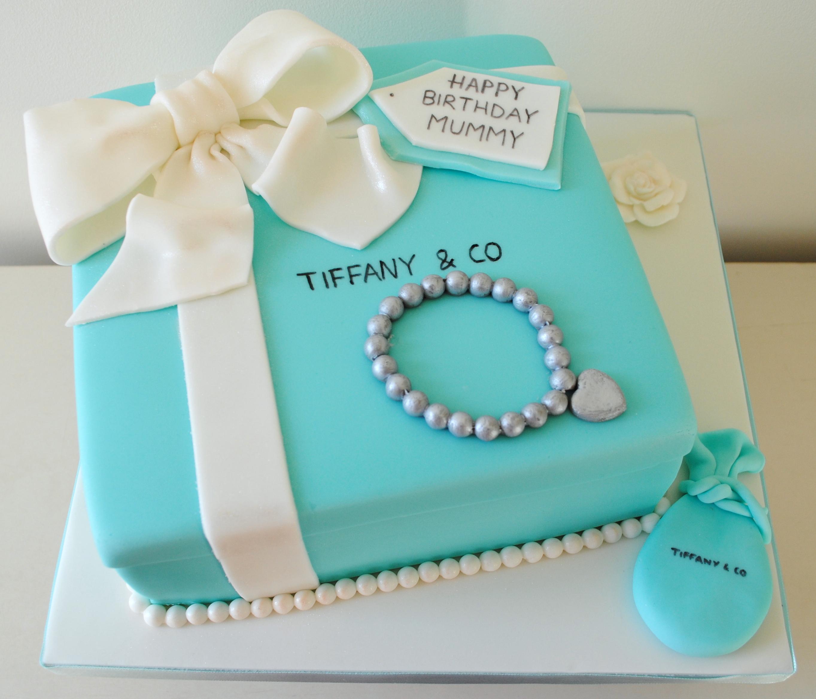 Tiffany Birthday Cakes
