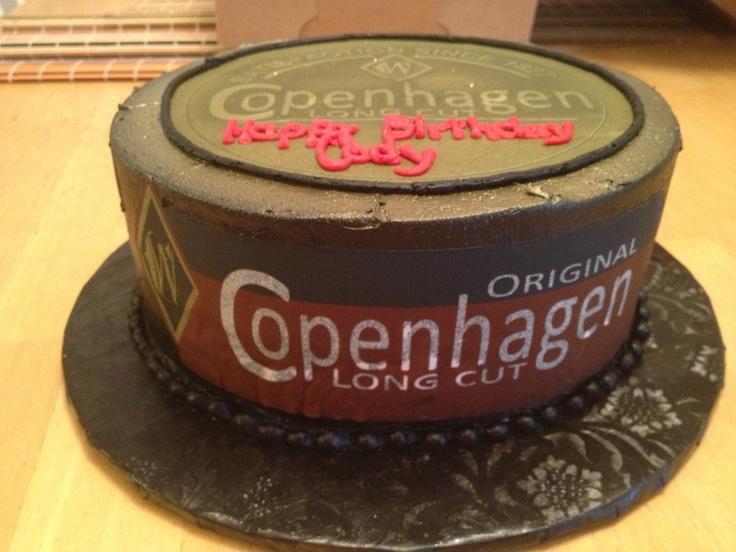 Copenhagen Birthday Cakes