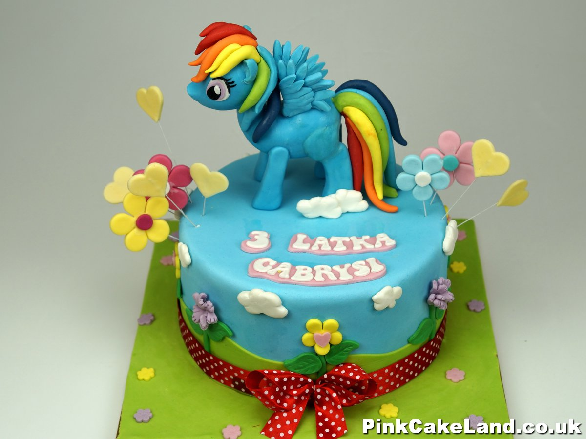Pony Birthday Cakes