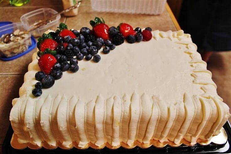 Wholefoods Birthday Cakes