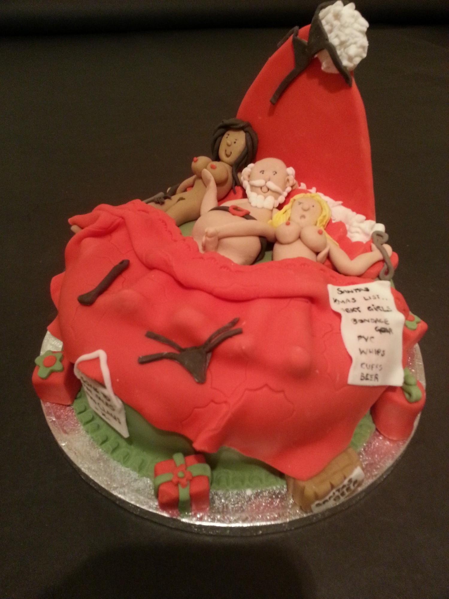 Erotic Birthday Cakes