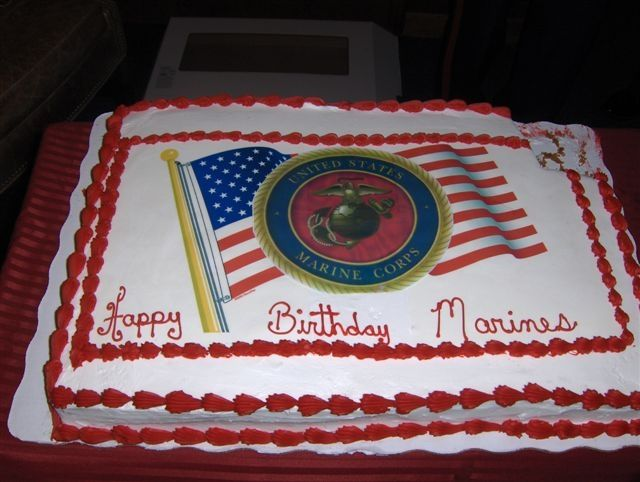 Marines Birthday Cakes