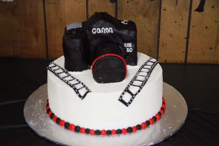 Camera Birthday Cakes