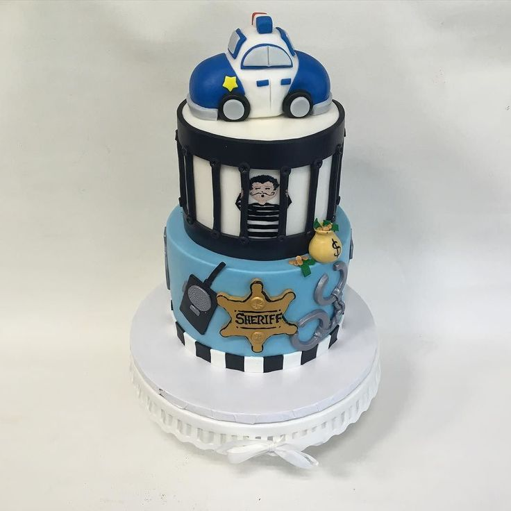 1000 Ideas About Police Cakes On Pinterest Harley