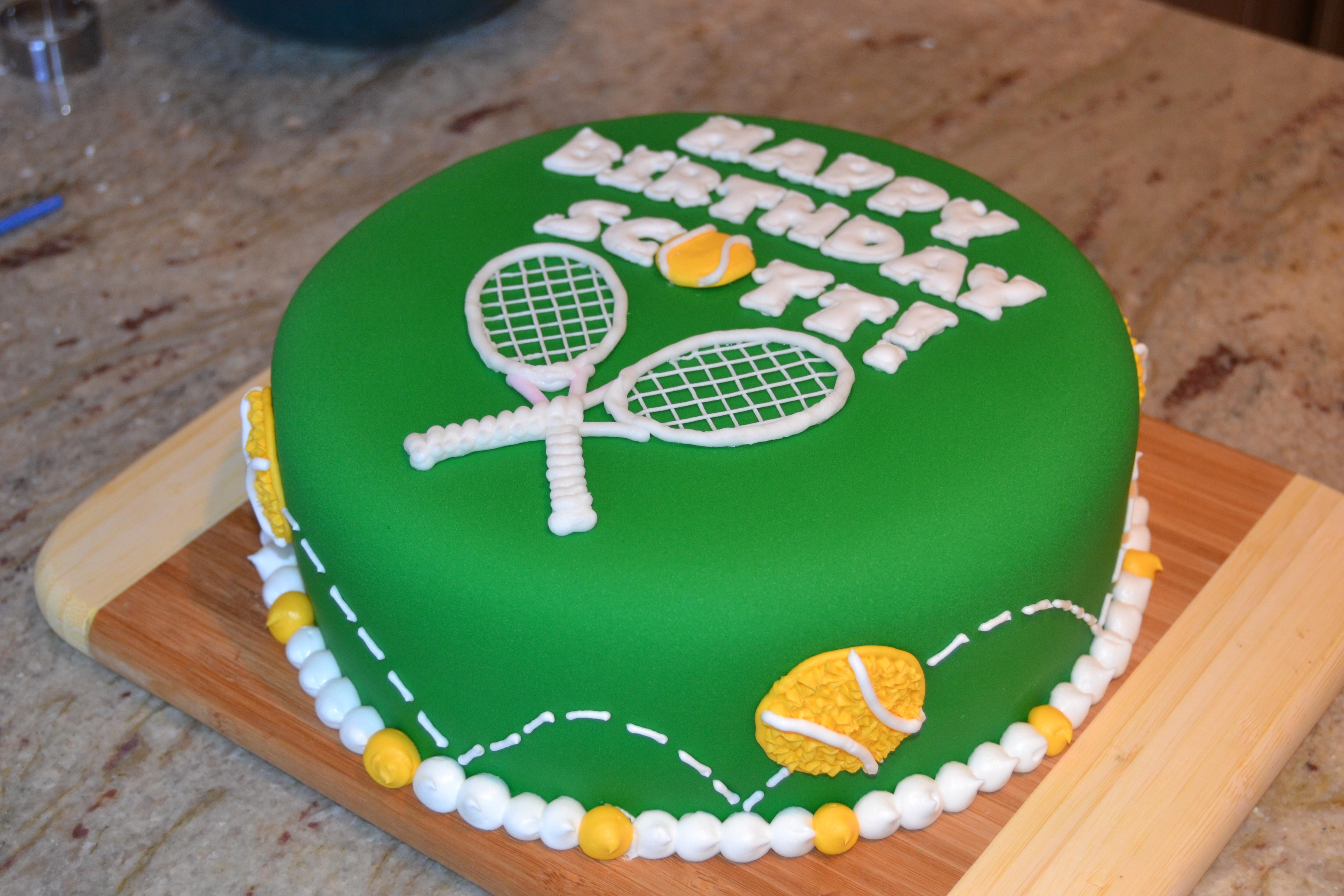 Tennis Wedding Cakes