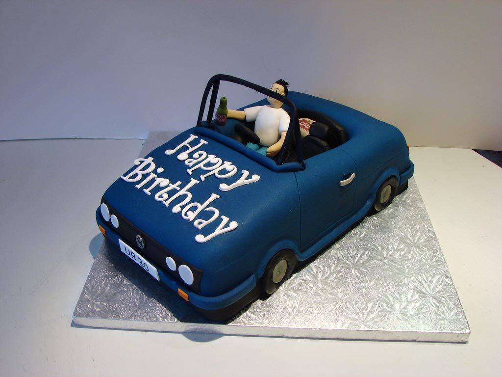 Car Birthday Cakes