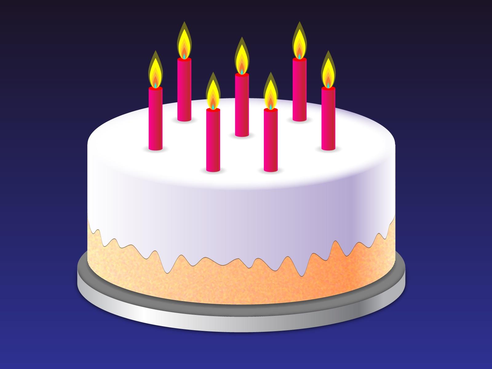 Анимации тортиков картинках, днем рождения