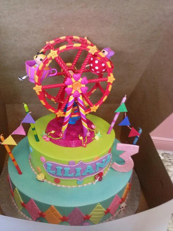 Carnival Birthday Cakes