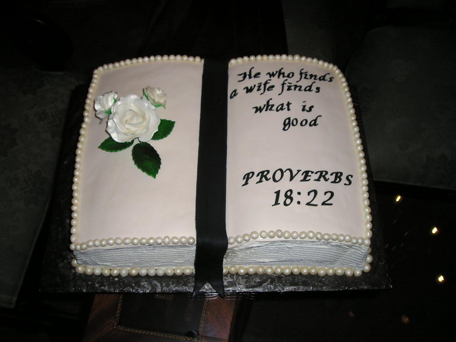 Bible Wedding Cakes