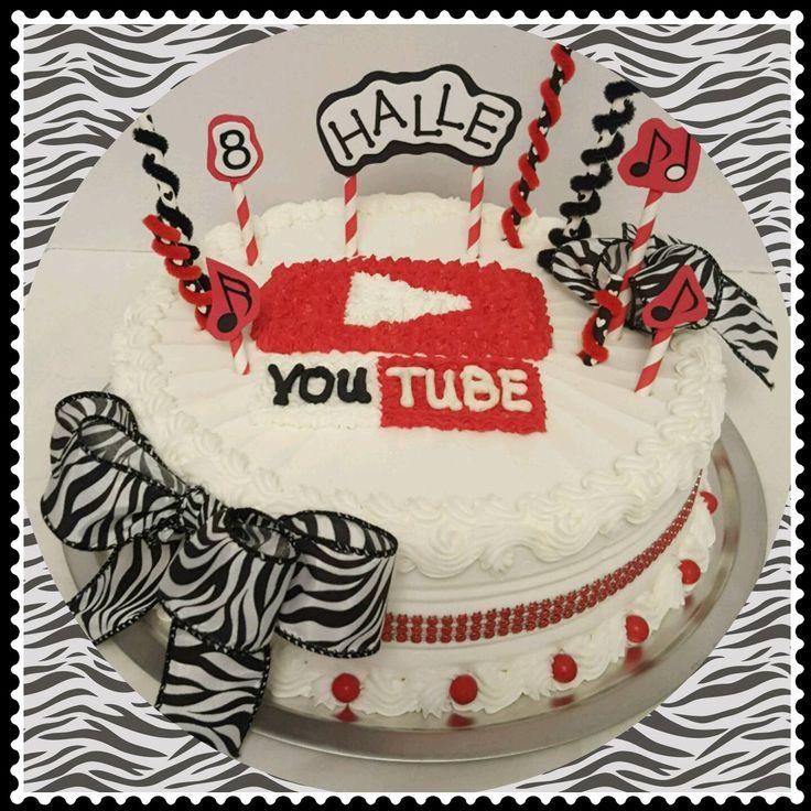 Youtube Birthday Cakes