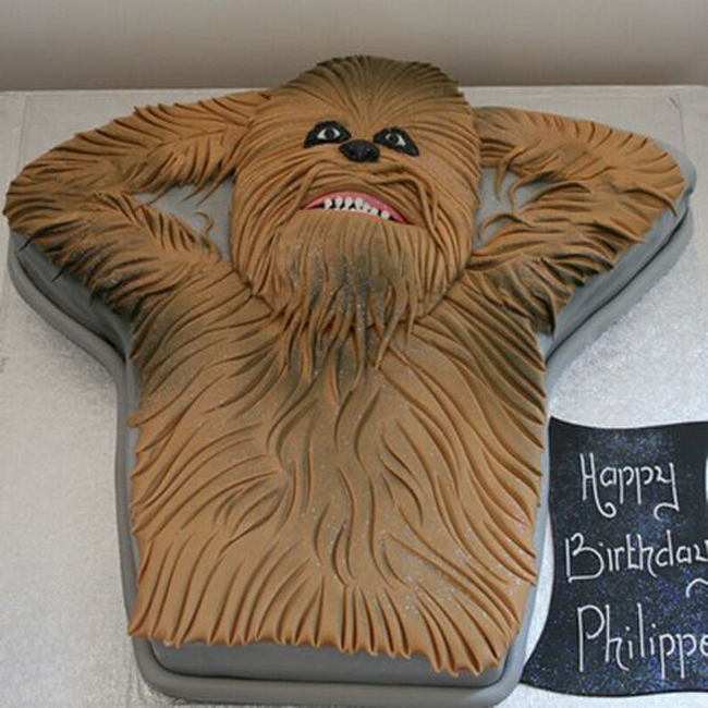 Chewbacca Birthday Cakes