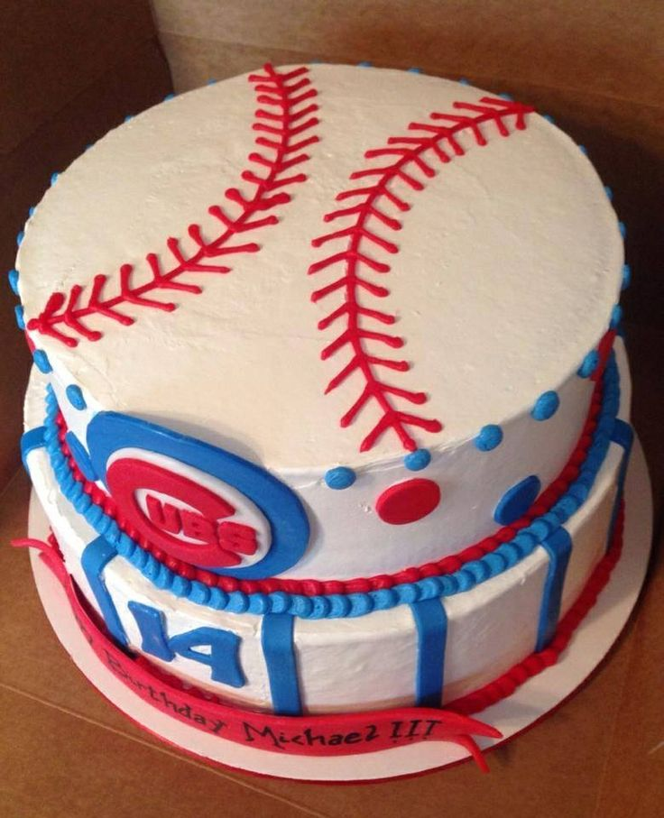 15 Best Images About Chicago Cubs Party On Pinterest: Cubs Birthday Cakes