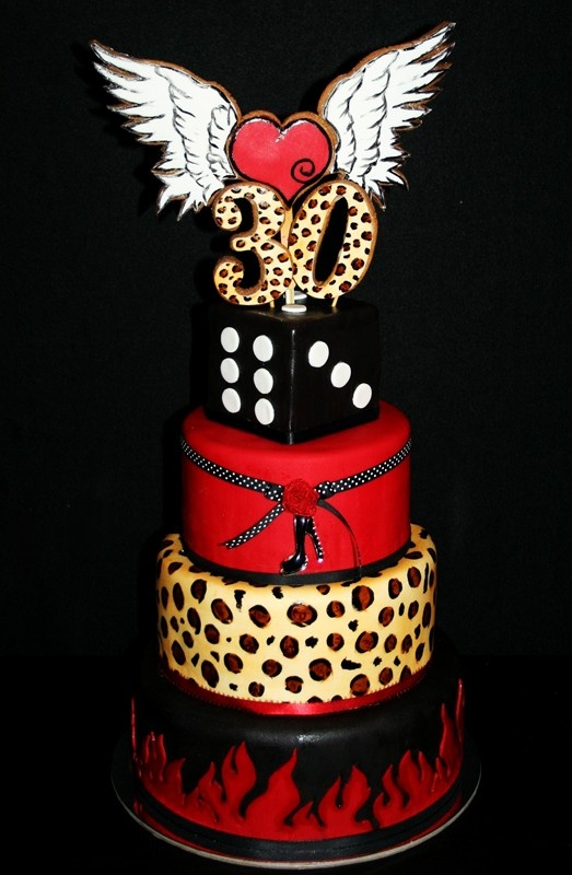 Rockabilly Birthday Cakes