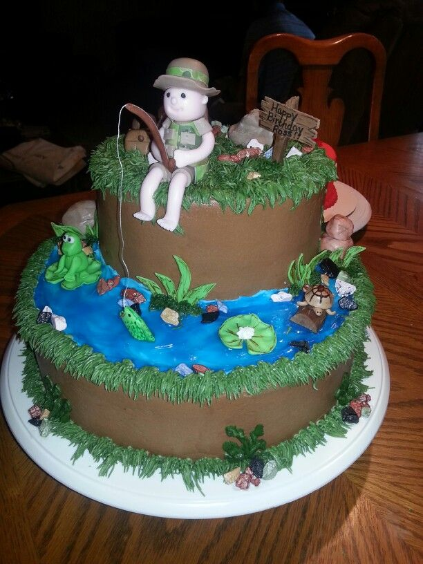 Fisherman Birthday Cakes