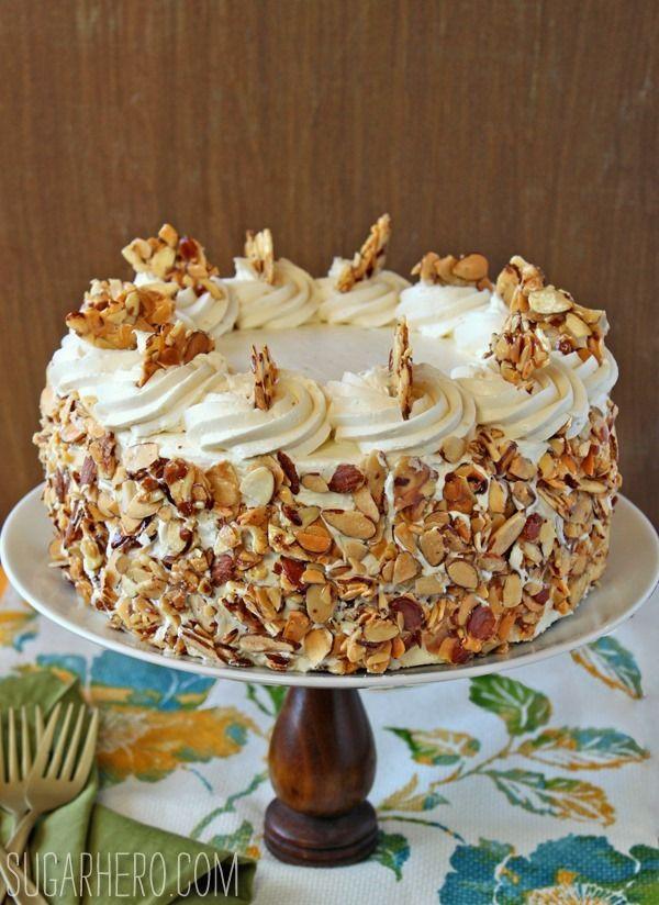 Almond Birthday Cakes