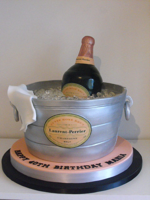 95 Birthday Cake Champagne Drink