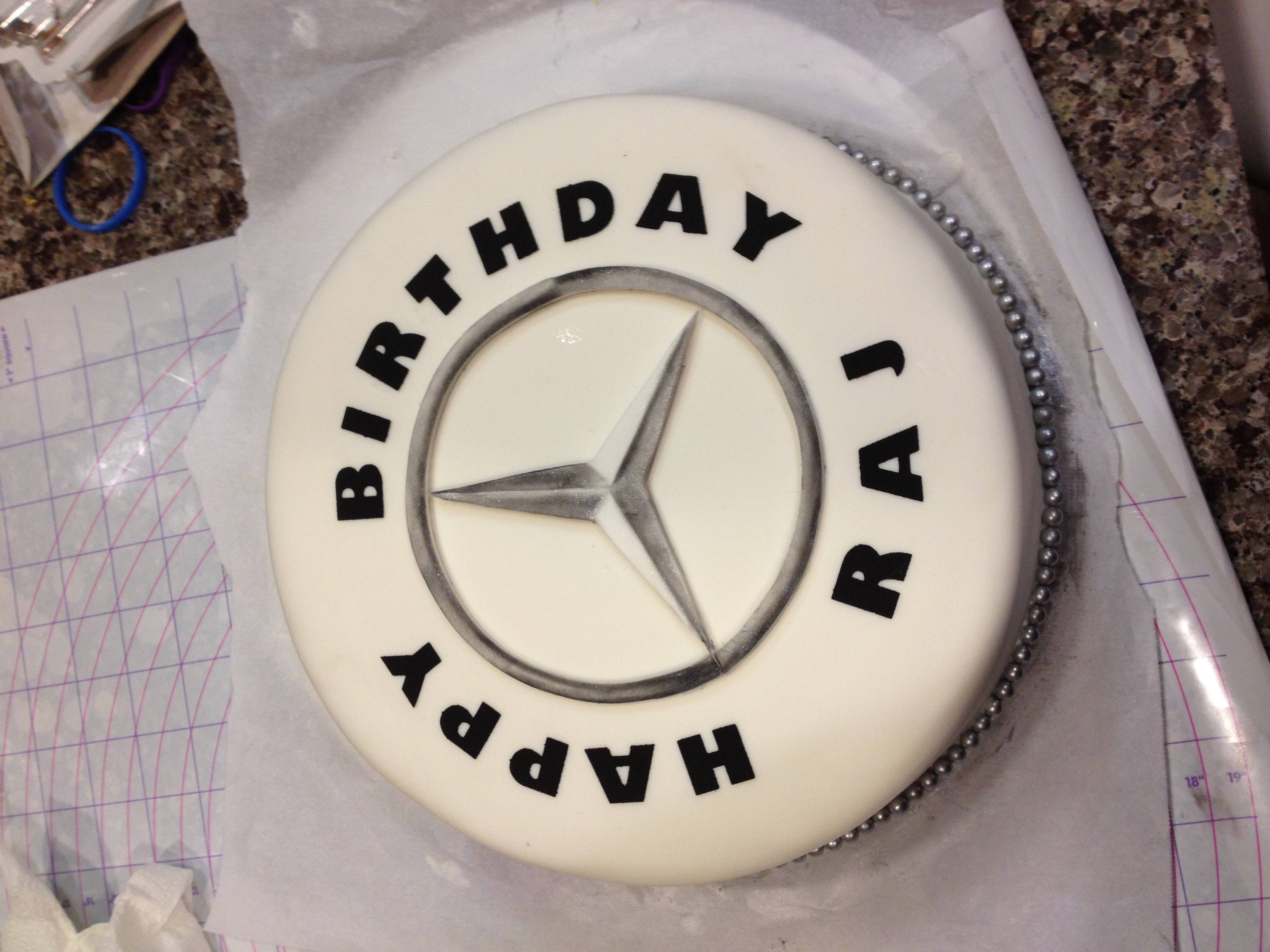 Mercedes Birthday Cakes
