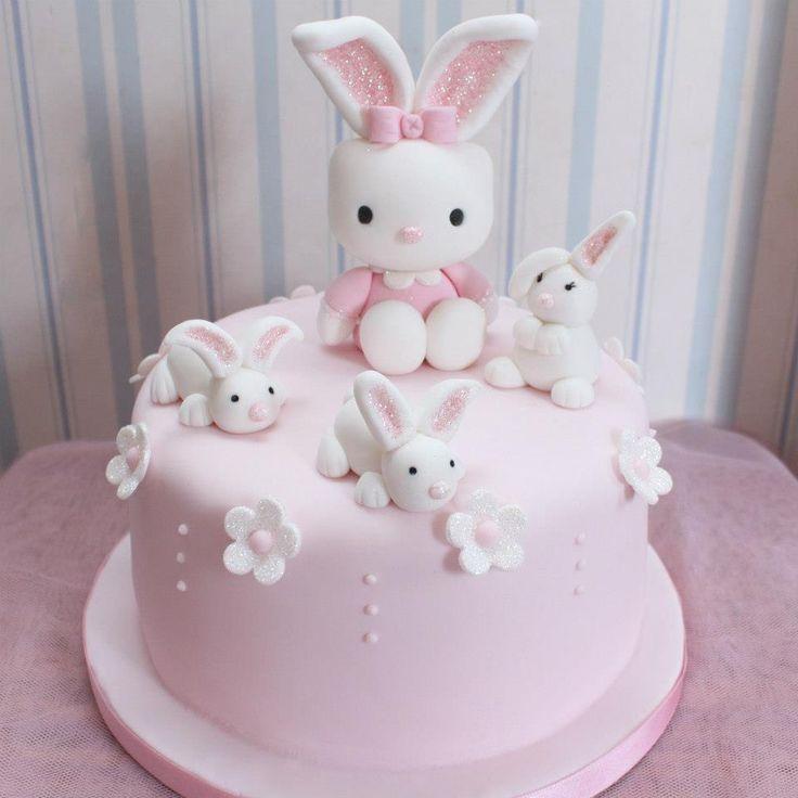 Bunny Birthday Cakes