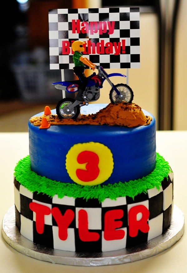 Dirtbike Birthday Cakes