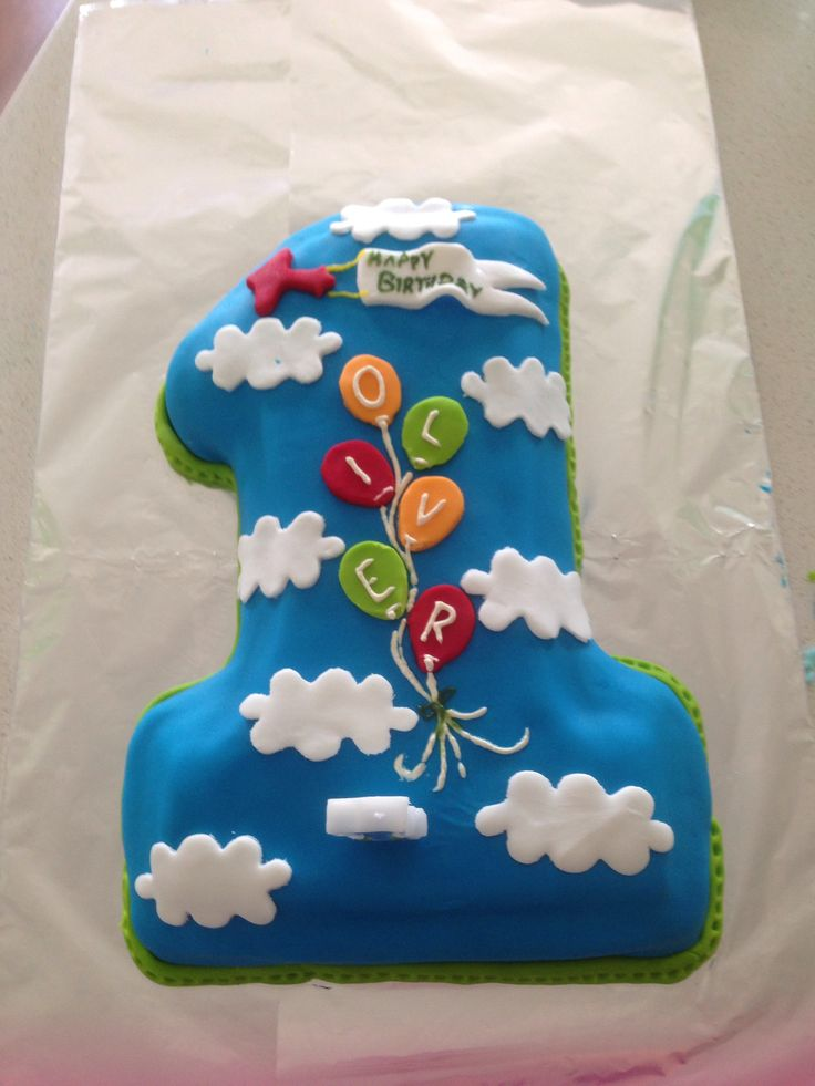 Number Birthday Cakes