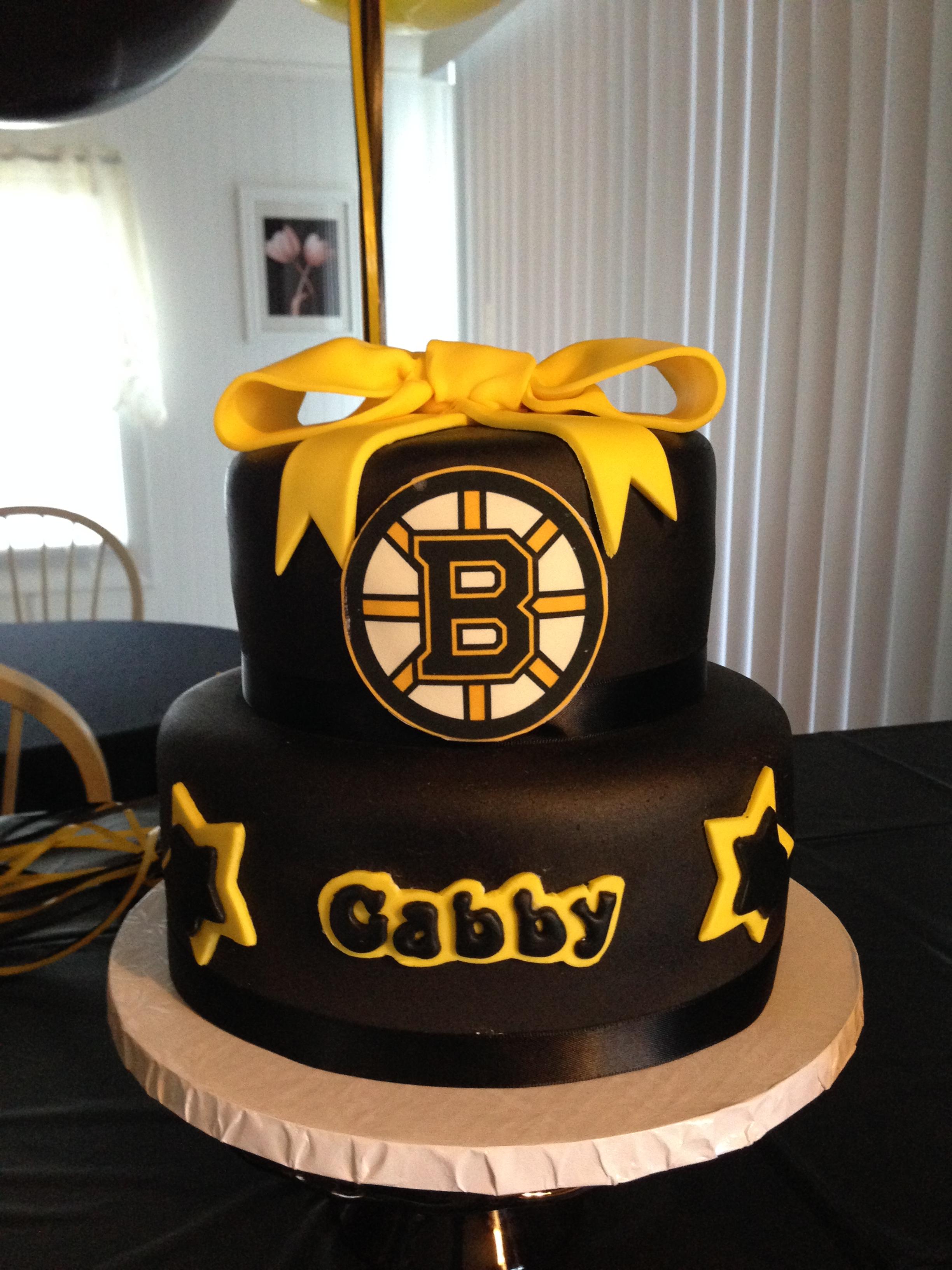 Bruins Birthday Cakes
