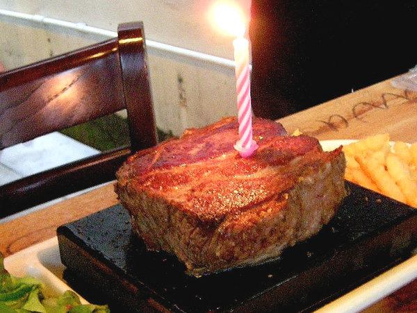 Steak Birthday Cakes