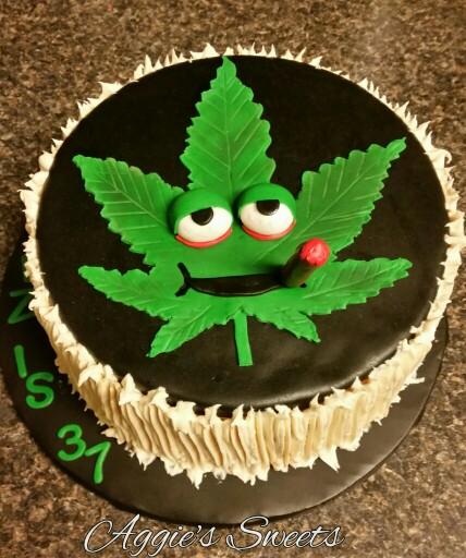 Cannabis Birthday Cakes